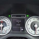 Mercedes A Class A180 instrument cluster