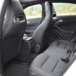 Mercedes A Class A180 rear seat legroom