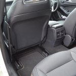 Mercedes A Class A180 rear seat maximum legroom