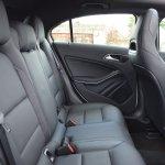 Mercedes A Class A180 rear seat