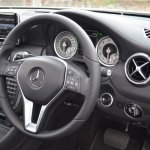 Mercedes A Class A180 steering wheel and controls