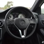 Mercedes A Class A180 steering wheel