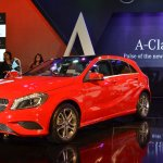 Mercedes A Class red color