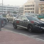Mercedes Benz GLA Class spied in Dubai front