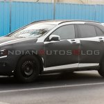 Mercedes Benz GLA Class spied in Dubai side