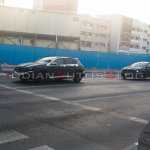 Mercedes Benz GLA Class spied in Dubai