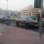 Mercedes Benz GLA Class spied