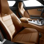Mercedes SLS AMG Designer Leather seats light brown