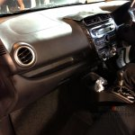 Mitsubishi Attrage dashboard
