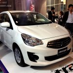 Mitsubishi Attrage white
