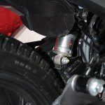 Mono suspension of the Honda CB Trigger
