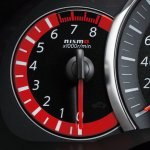 Nissan March NISMO tachometer