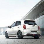Nissan Micra:March NISMO rear