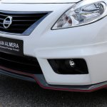 Nissan Sunny NISMO front bumper and skirts