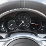 Porsche 911 50 Years Edition instrument display