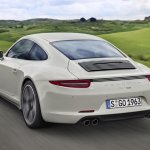 Porsche 911 50 Years Edition rear