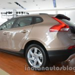 Rear left three quarter of the Volvo V40 Cross Country