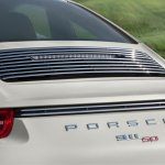 Rear of the Porsche 911 50 Years Edition