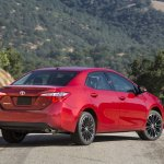 Rear right three quarter of 2014 Toyota Corolla