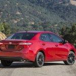 Rear right three quarter of 2014 Toyota Corolla