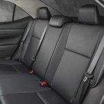 Rear seats of 2014 Toyota Corolla