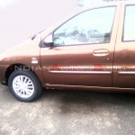 Refreshed Tata Indigo eCS left side
