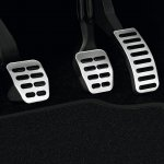 Skoda Roomster Noire pedals