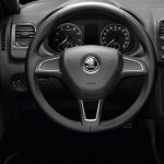 Skoda Roomster Noire steering wheel
