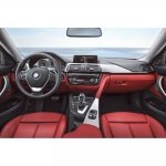 Sport line interior of the 2014 BMW 4 Series Coupe