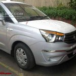 Ssangyong Rodius spied in India front