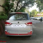 Ssangyong Rodius spied in India rear