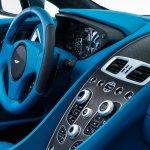 Steering wheel of the Aston Martin Vanquish Volante
