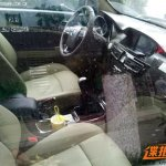 The interior of the Foday Explorer 7 spied in China