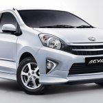 Toyota Agya front