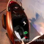 Under seat storage of the Honda Activa-I