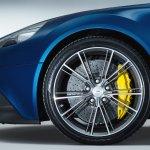 Wheel of the Aston Martin Vanquish Volante