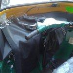 dashboard of the 2013 Bajaj RE three wheeler spied