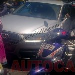 front of the Audi Q3 locally assembled version spotted testing