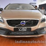 front of the Volvo V40 Cross Country