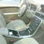 interior of the Volvo S80L facelift spied in China