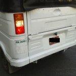 rear fascia of the 2013 Bajaj RE three wheeler spied