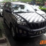 The front of the Foday Explorer 7 spied in China
