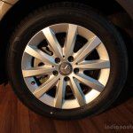 16 wheel of the Mercedes B 180 CDI