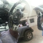 2011 Jeep Grand Cherokee spied in India interior