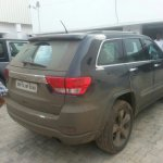 2011 Jeep Grand Cherokee spied in India rear