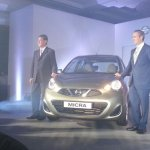 2013 Nissan Micra launched in India Beige color