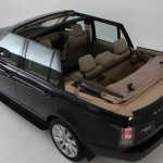 2013 Range Rover Newport Convertible rear