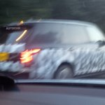 2013 Range Rover long wheel base spied rear door