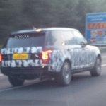2013 Range Rover long wheel base spied