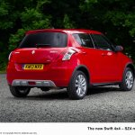2013 Suzuki Swift 4x4 rear three quarter